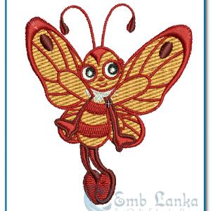 Very Cute Butterfly Embroidery Design Butterflies