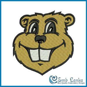 Minnesota Golden Gophers Logo 2 Embroidery Design Logos