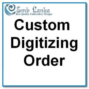 Protected: Custom Digitizing-1511 Custom Digitizing Order
