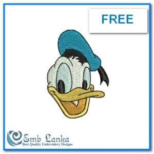 Free Disney Donald Duck Face 300x300, Emblanka