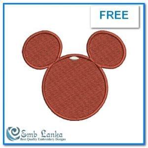Free Mickey Mouse Face 300x300, Emblanka