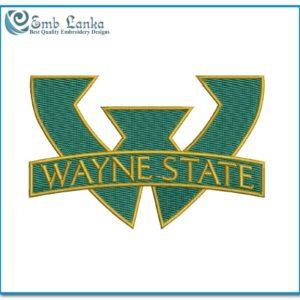 Wayne State Warriors Football Team Logo 300x300, Emblanka