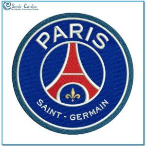 Paris Saint Germain Football Club Logo Applique 300x300, Emblanka