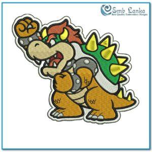 Mario Character Bowser 300x300, Emblanka